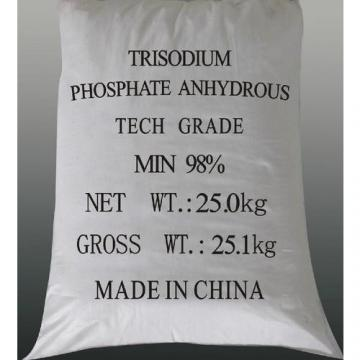 White Colorless Crystals Trisodium Phosphate(TSP) for Water Treatment